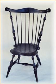 Oak Windsor Chairs, Fan Back ...