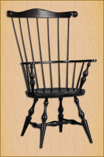 ... Quality Windsor Comb Back Arm Chair ...