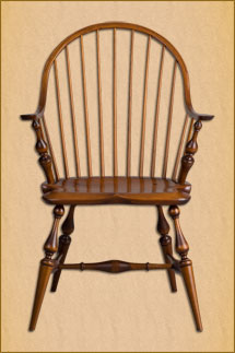 Delicieux Continuous Arm Windsor Chair ...